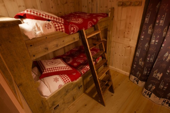Alcove with bunk bed - Lo Pilio two bedroom